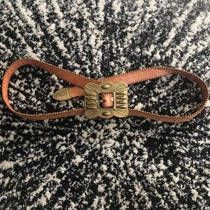 Streets Ahead Inc Santa Monica Bronze Brown Belt M